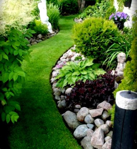 rock garden landscaping ideas river rock landscaping ideas home decorating and tips