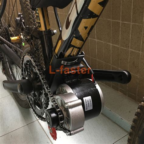 Electric Bike Motor by 350w E Bike Mid Drive Motor Kit L Faster