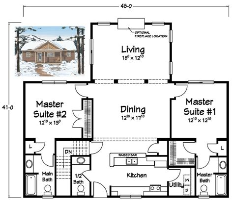 house plans two master suites two master suites ranch plans