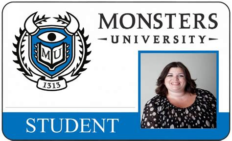 make your own student id card fantastic free monsters printable activity sheets