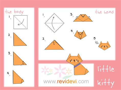how to make a origami how to make origami cat revidevi