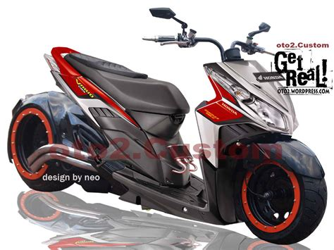 Motor Modifikasi Honda by Foto Modifikasi Honda Vario 2010 Gambar Foto Modifikasi