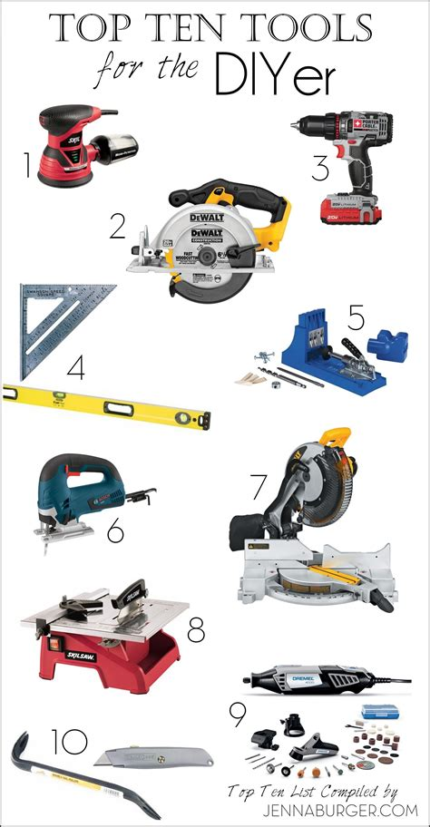 woodworking power tools for beginners gift guide for do it yourselfers 10 must tools for