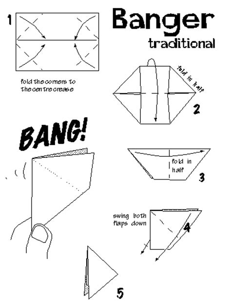 origami banger boat terms diagram boat free engine image for user