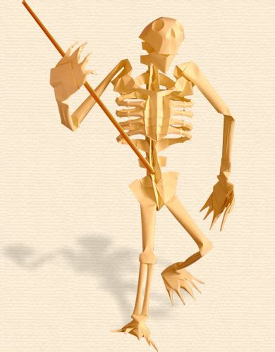 origami skeleton oriland oriland origami collections