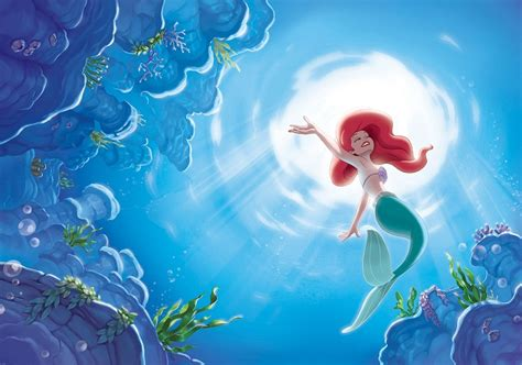 Forest Wall Mural disney ariel mermaid giant wall mural homewallmurals