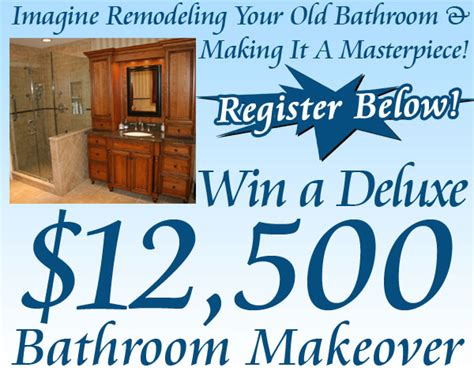 Win A Bathroom Makeover 2014 by Build Your Bathroom Peninsula Of Michigan