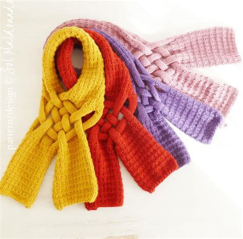 how to make a knit scarf you to see mustard knit scarf on craftsy