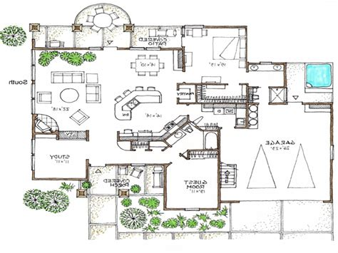 open floor house plans open floor plans 1 story space efficient house plans