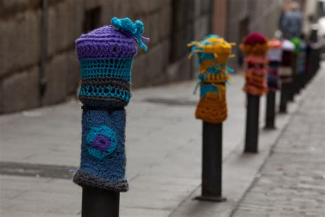 knit bomb for the of knit would you yarn bomb