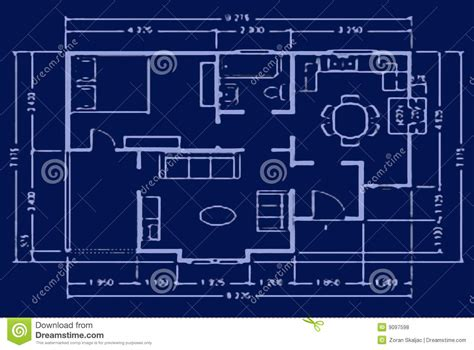 draft a blueprint of your home blueprint house plan royalty free stock photos image