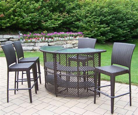 patio furniture bar table bar height patio sets decor ideasdecor ideas