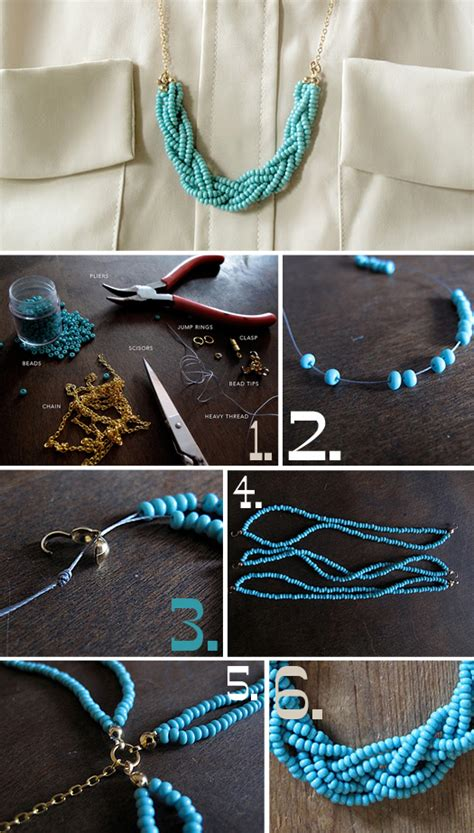 how to make diy jewelry fashion 187 archive necklace diy braided