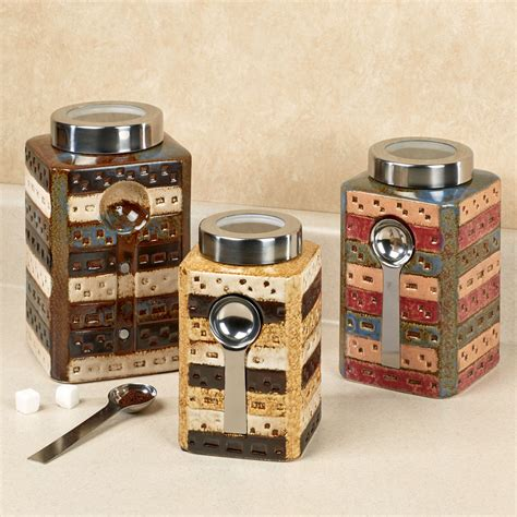 Kitchen Canister canisters sets for the kitchen laurensthoughts com