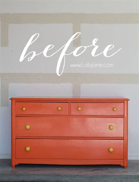 chalk paint glossy finish glossy dresser makeover lolly