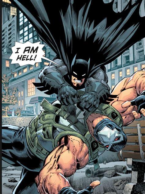 comics vs batman vs bane whos bettr duh batman cx even tho he does