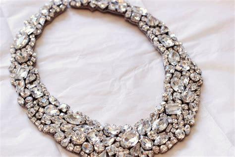 how to make wedding jewelry statement wedding jewelry bridal necklace etsy handmade 13