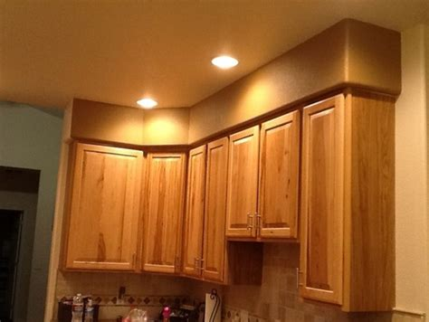 kitchen cabinet soffit need help with soffit above kitchen cabinets