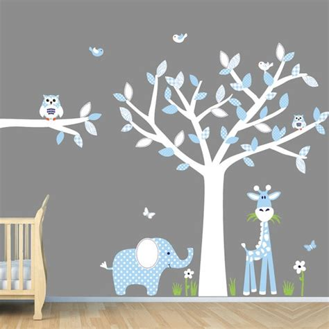 boys nursery wall decals baby blue nursery wall jungle wall decals boy wall