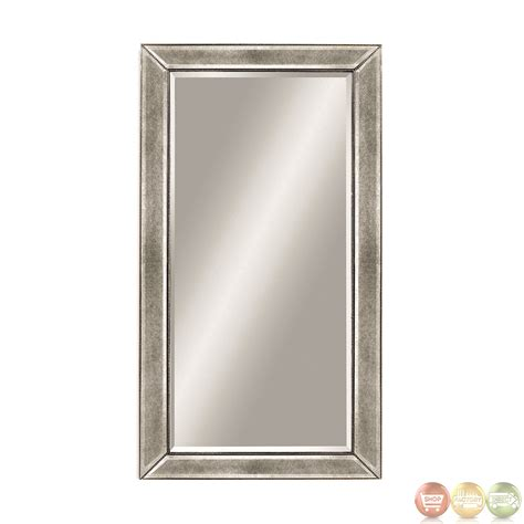 beaded mirror beaded silver leaf contemporary wall mirror m1946bec