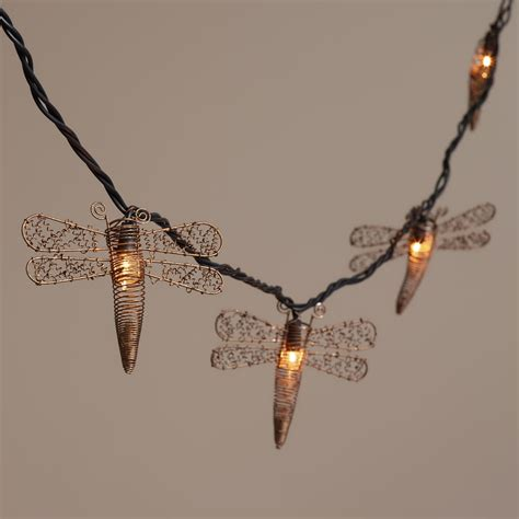 dragonfly outdoor lights dragonfly string lights outdoor minimalist pixelmari