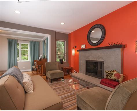 paint colors kitchen family room combination living room paint color ideas orange combinations