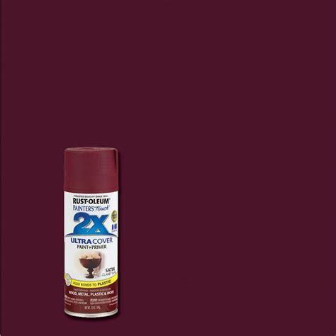 spray paint at home rust oleum painter s touch 2x 12 oz satin claret wine