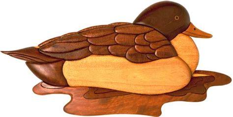 woodworking pattern duck intarsia pattern