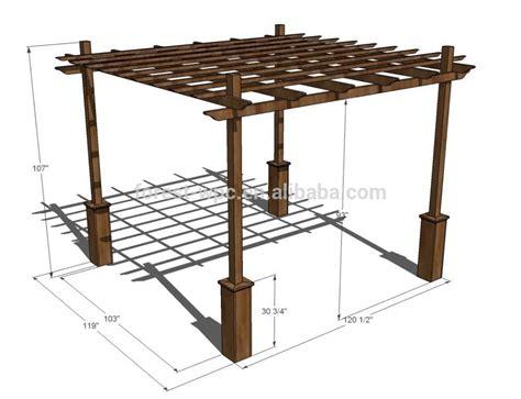 pergola blueprints free pergolado de madeira como fazer