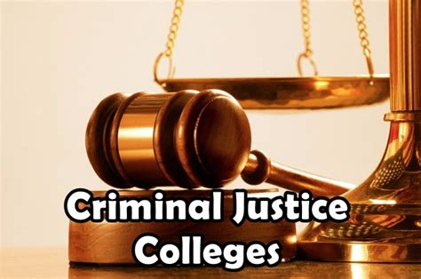 criminal justice in the colleges for criminal justice youth portal