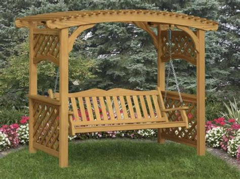 Outdoor Bench With Storage Plans by Covered Benches Trellis Bench Garden Arbor With Bench