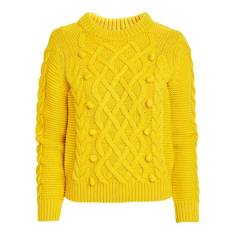yellow knit sweater cable knit sweater yellow sweaters cardigans