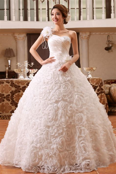 wedding gown with buy gorgeous floral white wedding gown gowns