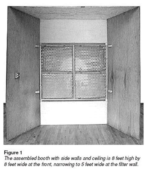 spray booth for woodworking woodwork woodworking spray booth plans plans pdf