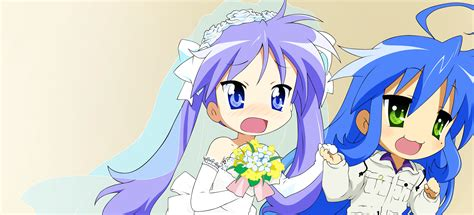lucky yuri lucky konata and kagami www imgkid the image