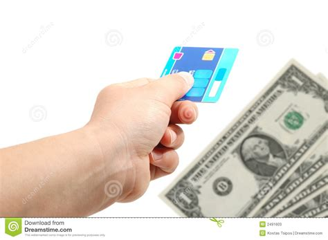 how to make money from credit card credit card and money stock photos image 2491603