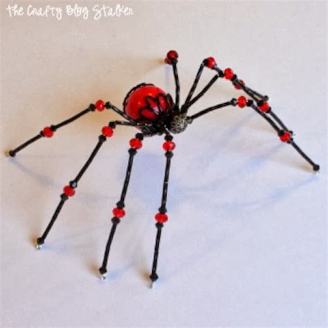 beaded spider how to make a beaded spider the crafty stalker