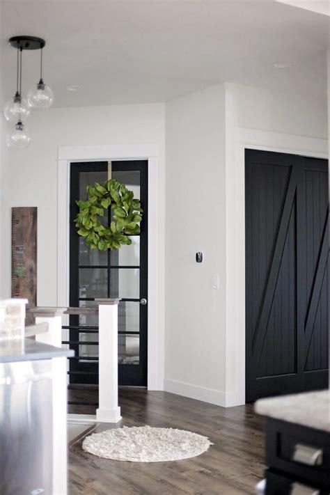 black door interior best 25 black interior doors ideas on