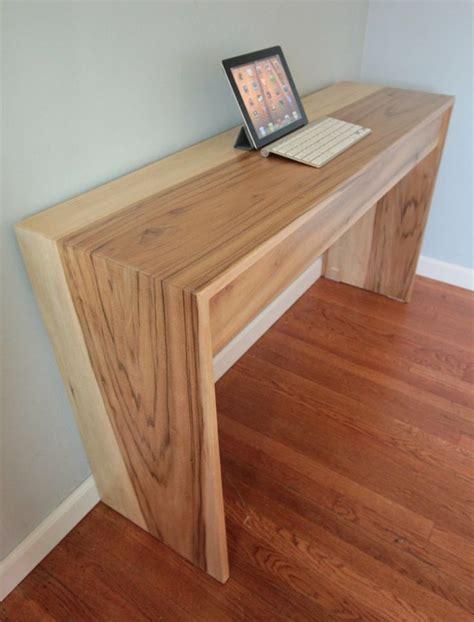 woodworking computer desk the 25 best ideas about modern wood desk on