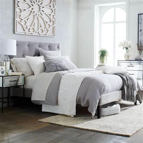 grey headboard 8 chic tufted headboard design ideas for modern bedroom