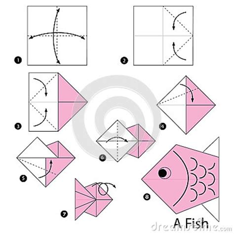 how to make origami fish step by step step by step how to make origami a fish