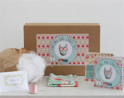 craft kits tooting owl beginners craft kit by lou brown designs