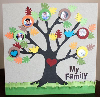 family craft for family tree craft