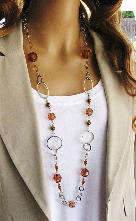 how to make a chain necklace with 25 best ideas about chain necklaces on