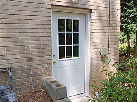 exterior door install how to install a pre hung exterior door how tos diy