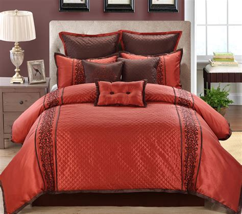 comforter set 9 grenoble chocolate comforter set