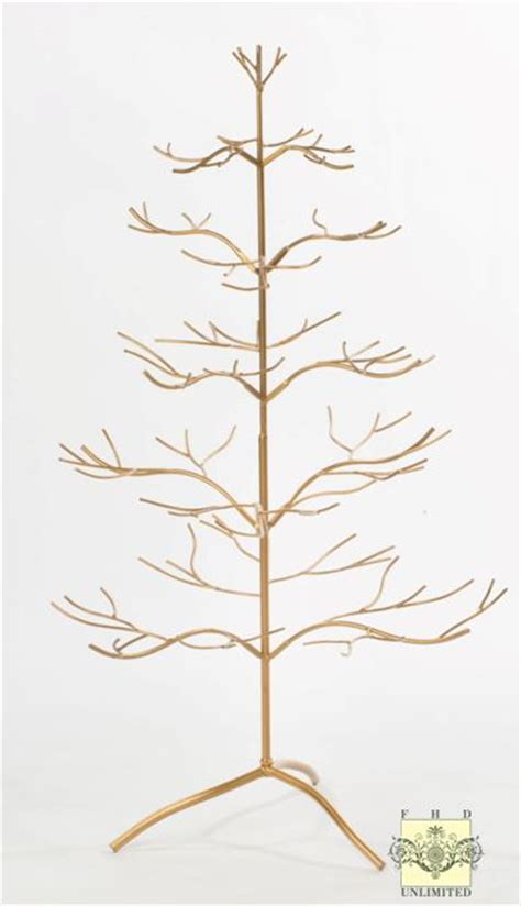 display tree ornament display tree silver or gold 36