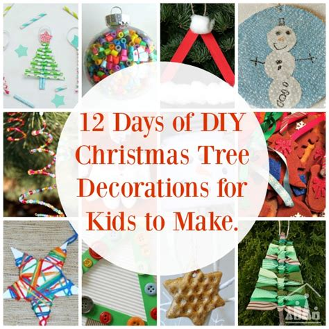 tree decorations to make a tree you can be proud of crafty