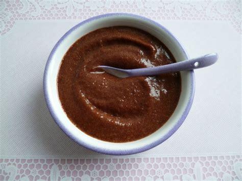 cr 232 me dessert pomme chocolat hyperprot 233 in 233 e di 233 t 233 tique sans oeuf sans gluten sans cuisson et