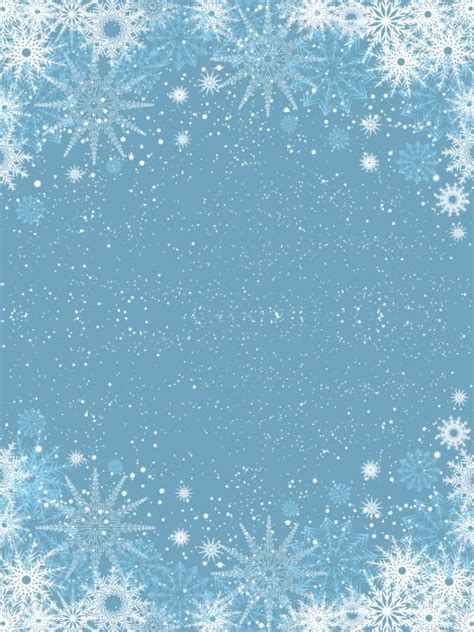 light snowflakes snowflakes on light blue background vector free